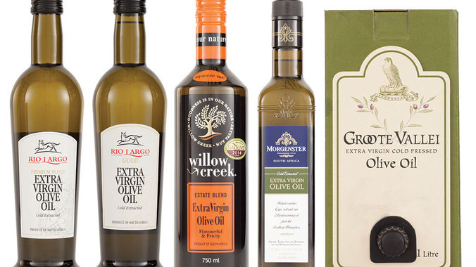 Award winning South African olive oils