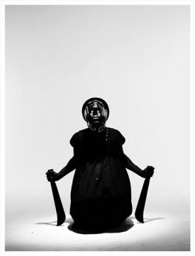 Mohau Modisakeng, Untitled (Frame III), 2012. Chromogenic print, 200 x 150 cm