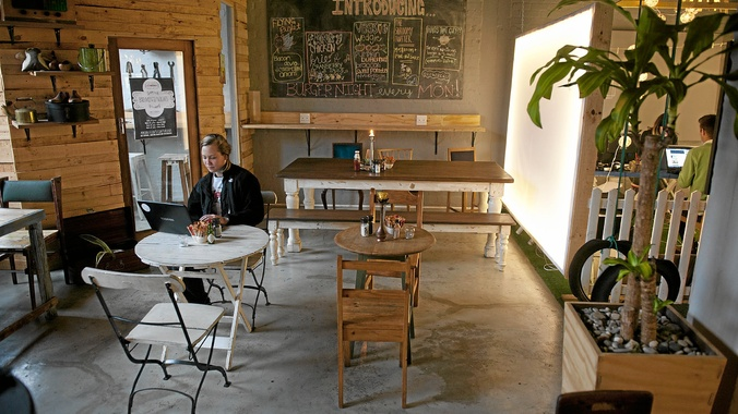 Food: A creative spot to chew on