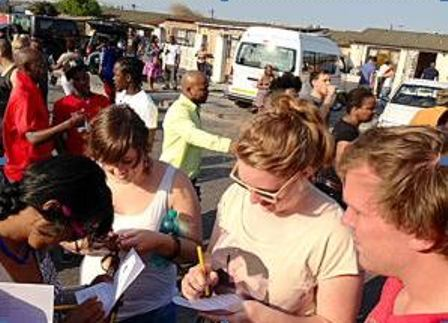 Foreigners loving SA's township tours