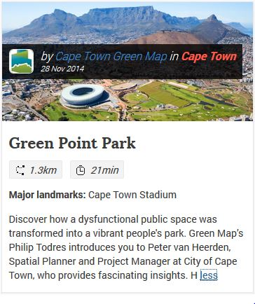 VoiceMap Gets You Walking in Cape Town