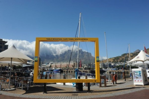 Safe Travels stamp, V&A Waterfront