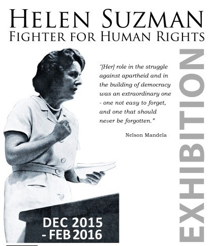 Helen Suzman: Fighter for Human Rights Exhibition at SA Jewish Museum