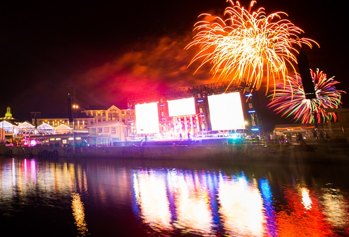 Carnivals, festivals and fireworks at this year's V&A Waterfront New Year's Eve