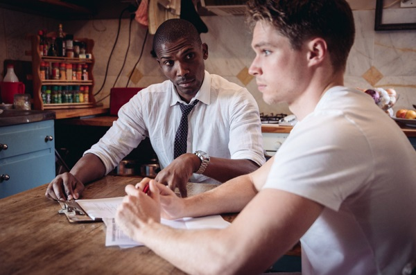 Selwyn and Gabriel at Alexander Upstairs Theatre