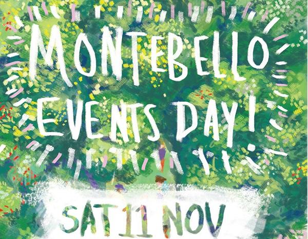 Montebello Design Centre Events Day on Saturday, 11 November.