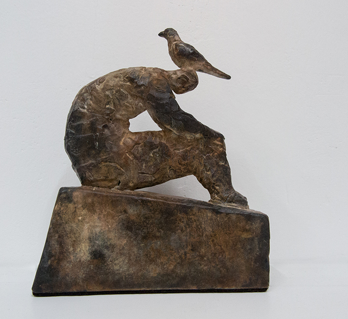 Pieter-Robbetze.-Three-Formerselves-Part-12.-Bronze.-90mm-x-40mm-x-120mm