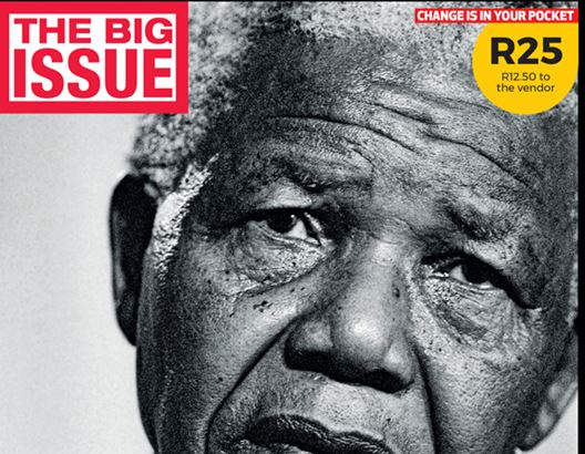 The Big Issue. Mandela Centenary