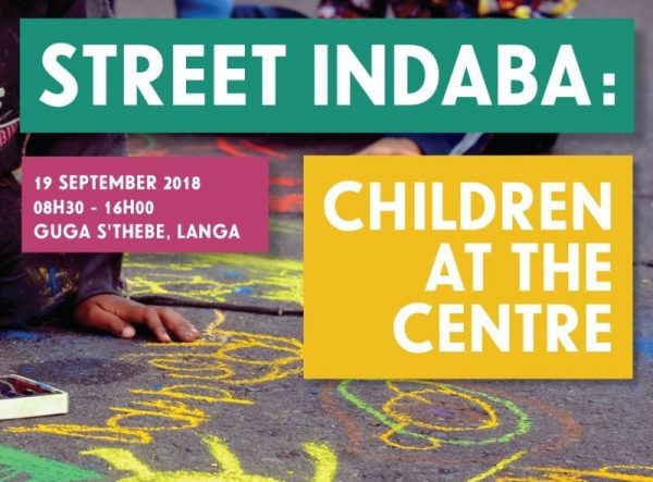 Open Streets is hosting its first Street Indaba