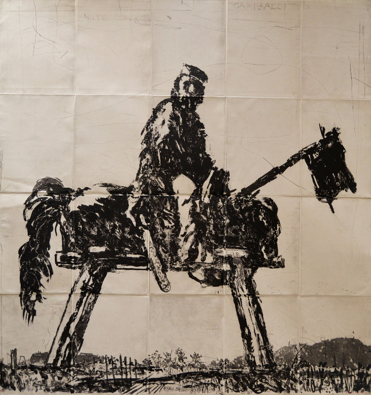 William-Kentridge-Garibaldi-163cmh-x-156cm-w