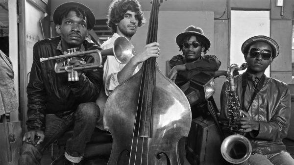 Jazz in the Native Yards, Mandla Mlangeni