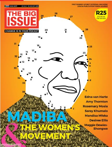 The Big Issue, Women's Day, Madiba