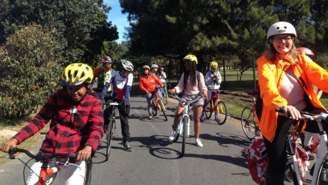 Mobile Women advocate for inclusive, safe cycling in Cape Town