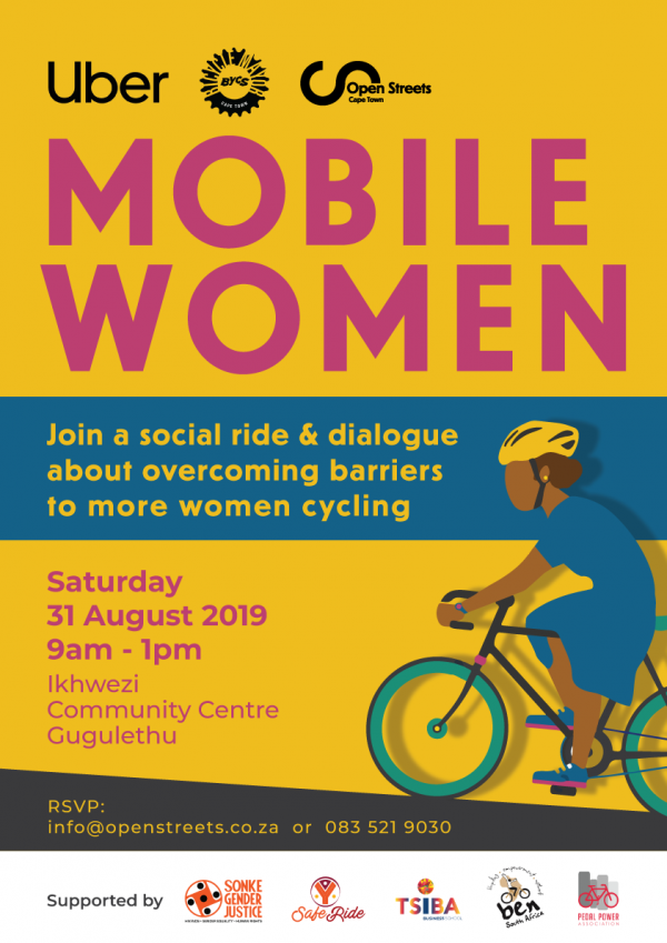 Mobile Women, Open Streets Cape Town