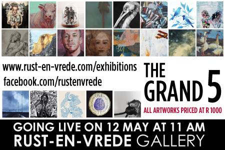 Rust-en-Vrede Gallery – The Grand 5 Online Exhibition
