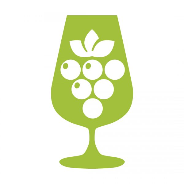 sustainable vineyards, green wine champion icon