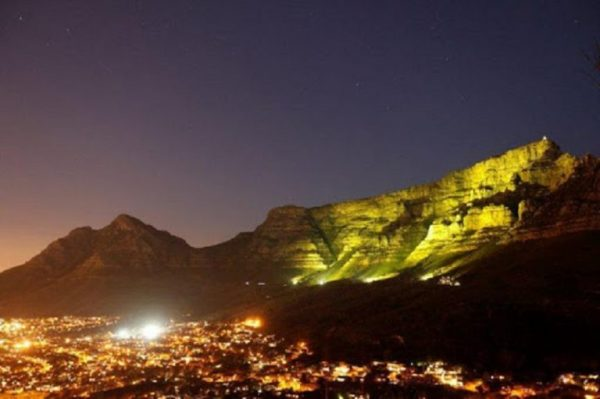 #GoingGold, Table Mountain
