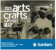 sanlam arts + crafts Map