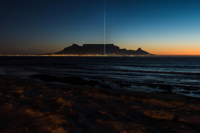 Tribute of Light and Hope at V&A Waterfront
