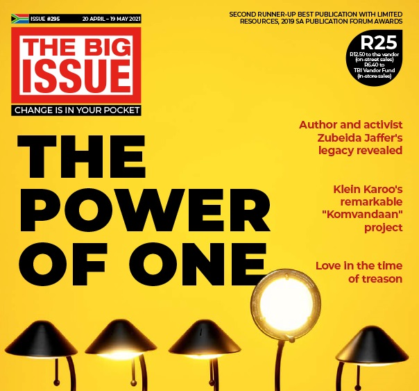 THE BIG ISSUE #295 available NOW!