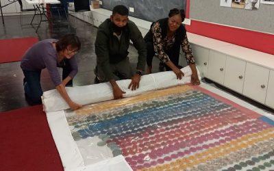 EVERYWOMAN Blessing Blanket or Singing Skirt at Artscape