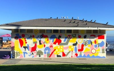 Seaside Circus Mural brings new energy to Sea Point Prom