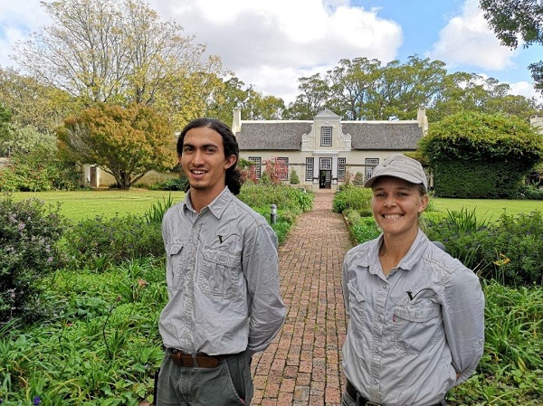 New gardening talent at Vergelegen Wine Estate